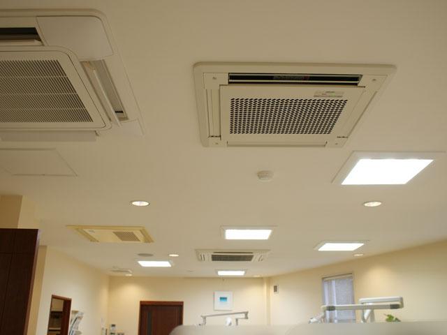 滅菌対策 空調システム